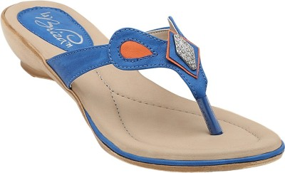 La Briza Women Blue Wedges