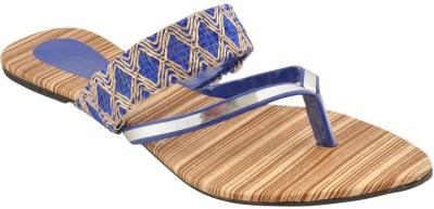 Bootwale Women Blue Flats