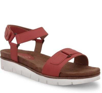 La Briza Women Burgundy Sports Sandals