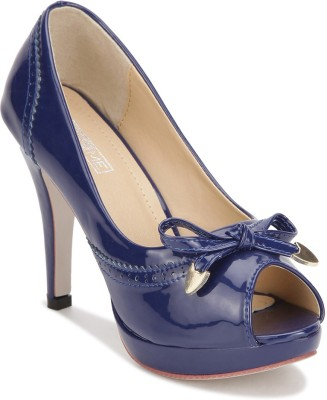 Yepme Women Navy Heels