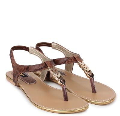 Shezone Women Brown Flats
