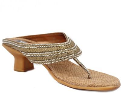 Trendy Enterprises Women Silver Heels