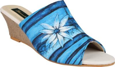 Wearmates Women Blue Wedges