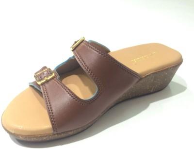 SWAGGA Women Brown Clogs