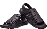 Enzo Cardini Men BLACK Sandals