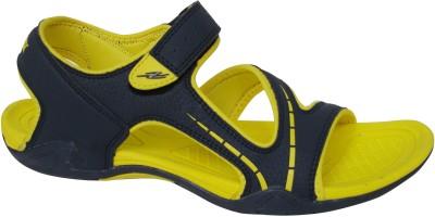 Axotrek Ultra Light Weight Men Navy, Yellow Sandals