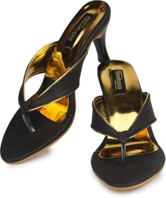 Shoetopia Women Black Heels