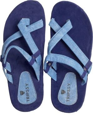 Flamboyance Men Blue Sandals