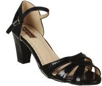 Flat n Heels Women Black Heels