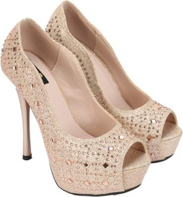 Gossip Women Beige Heels