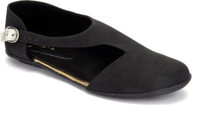 Shibha Footwear Women Black Flats