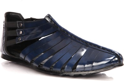 Nawaabs Men Men Blue Sandals