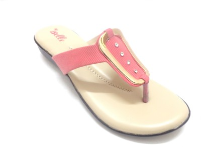wbelle me Women Pink Wedges