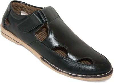 Fernando Diamanti Men Black Sandals