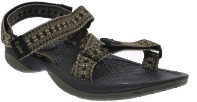 CYKE Men Olive Sandals