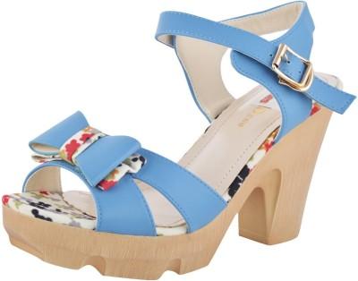 Willywinkies Women Blue Heels