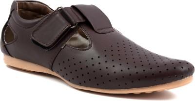 LeCobbs Men Brown Sandals