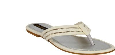 Welson Women White Flats
