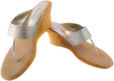 Classic Arona Women Silver Wedges