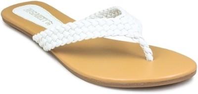 Gaiety Women White Flats