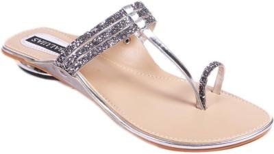 Balujas Women Silver Flats
