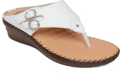 Vendoz Women White Flats