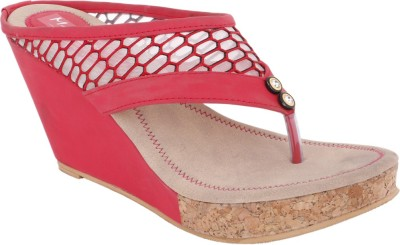 Modin Women Red Wedges