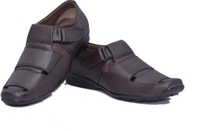 Skoene Men Brown Sandals
