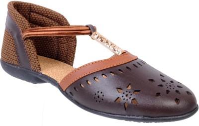 Fescon Women Brown Flats