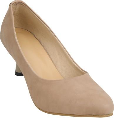 Glitzy Galz Women Khaki Heels