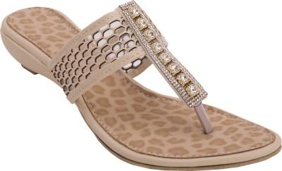 Cute Fashion Women Beige Flats