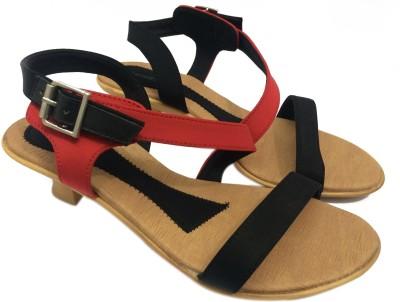 KNEETOES Girls, Women Black Heels