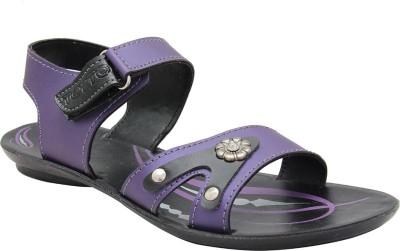 Toyto Women Purple Flats
