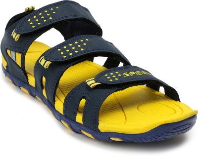 Speed Men Navy, Yellow Sandals