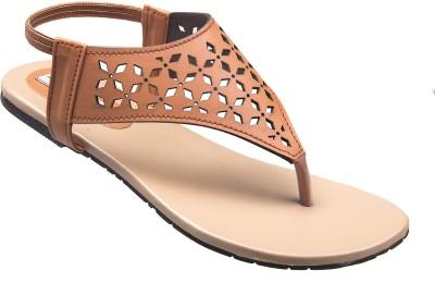 ADDO Women Tan Flats