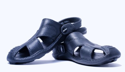Spice Pathani Men Black Sandals