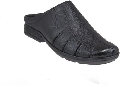 Elite Men Black Sandals