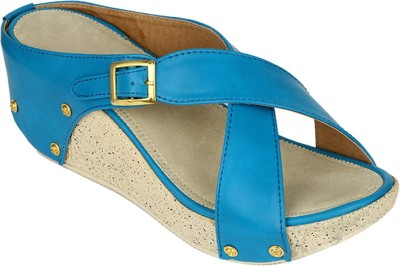 Suyash Girls Blue Heels