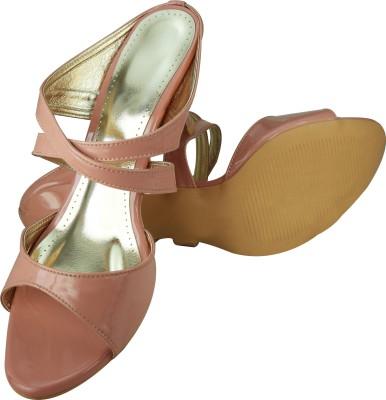 Spazzio Women Pink Heels