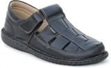 Footgraphy Men Black Sandals