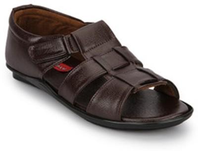 Wave Walk Sandal Men Brown Sandals
