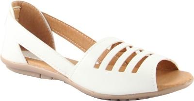 Cute Fashion Women White Flats