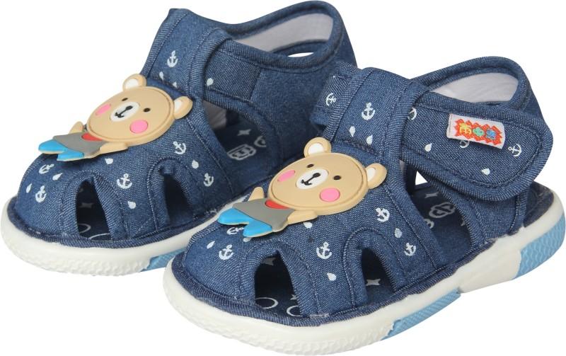 FabSeasons Boys, Girls Blue Sandals