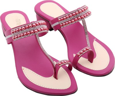 Royal Collection Women Pink Heels