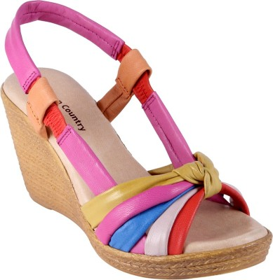 Urban Country Women Multicolor Wedges