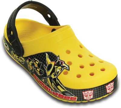 Crocs Baby Boys Yellow Sandals