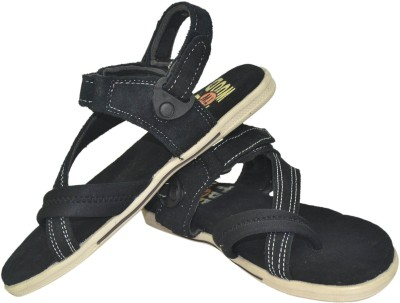 Tree Wood Men Black Sandals