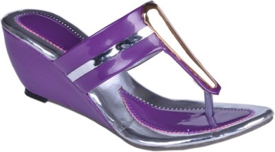 Leeway Women Purple Wedges