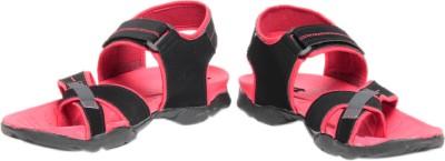Pede Milan Elvan 985-Black Men Black, Pink Sandals