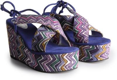 Charu- Diva Design Studio Women Multicolor Wedges